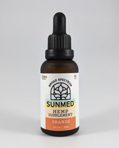 750mg Sunmed Broad Spectrum CBD Oil