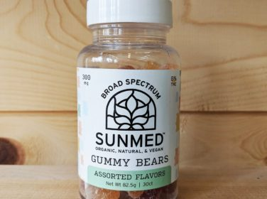 Sunmed broad spectrum gummy bears