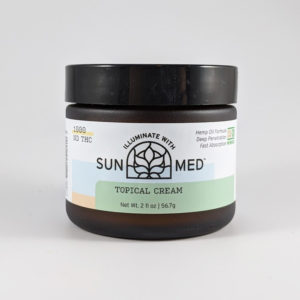 Sunmed Topical CBD Cream 1000mg / 2000mg