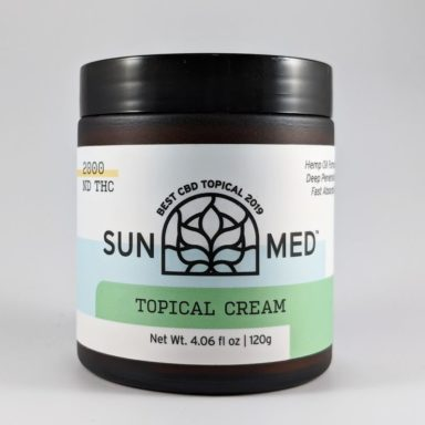 Sunmed Topical CBD Cream 1000mg / 2000mg