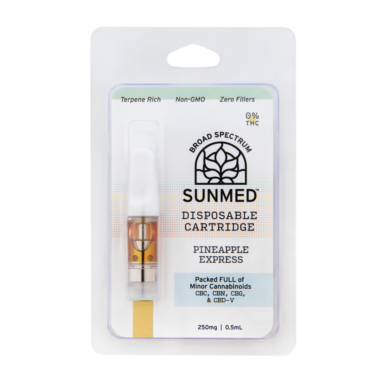 Sunmed CBD Vape Cartridges