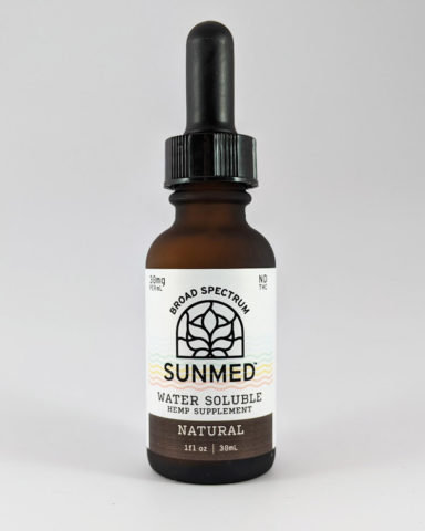 Water Soluble CBD 900mg SunMed