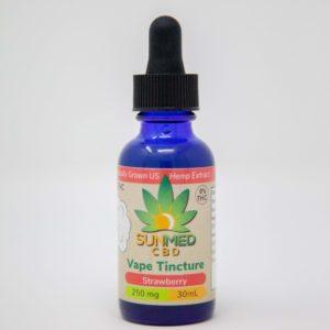 CBD Vape Oil- Strawberry 250mg