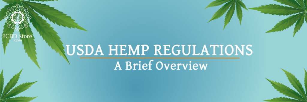 USDA Hemp Regulations - Ripon Naturals/Your CBD Store
