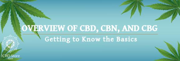What Are CBD, CBN, and CBG? - Ripon Naturals
