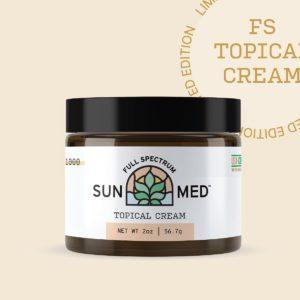 Sunmed Full Spectrum Topical CBD Cream